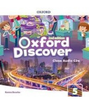 Диски Oxford Discover (2nd Edition) 5 Grammar Class Audio CDs(2)
