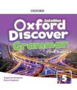 Диск Oxford Discover (2nd Edition) 5 Grammar Class Audio CD