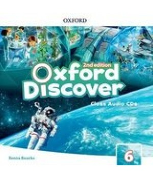 Диски Oxford Discover (2nd Edition) 6 Grammar Class Audio CDs(2)