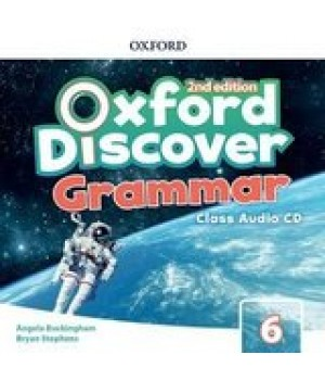Диск Oxford Discover (2nd Edition) 6 Grammar Class Audio CD