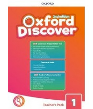 Книга для вчителя Oxford Discover (2nd Edition) 1 Teacher's Pack