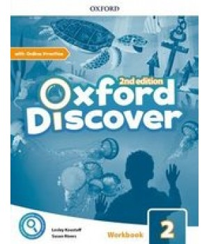 Робочий зошит Oxford Discover (2nd Edition) 2 Workbook with Online Practice