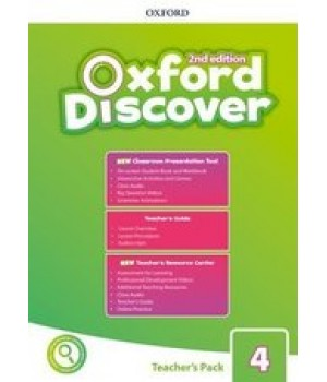 Книга для вчителя Oxford Discover (2nd Edition) 4 Teacher's Pack