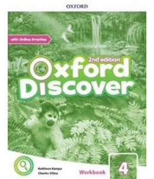 Робочий зошит Oxford Discover (2nd Edition) 4 Workbook with Online Practice