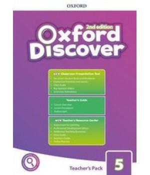 Книга для вчителя Oxford Discover (2nd Edition) 5 Teacher's Pack