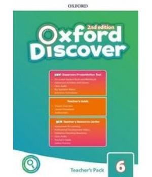 Книга для вчителя Oxford Discover (2nd Edition) 6 Teacher's Pack