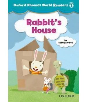 Книга для читання Oxford Phonics World 1 Reader: Rabbit's House