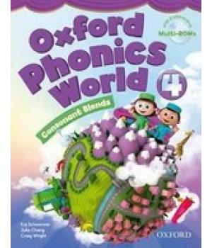 Підручник Oxford Phonics World 4 Student's Book
