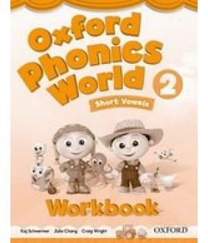Робочий зошит Oxford Phonics World 2 Workbook