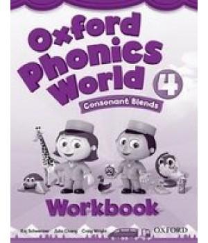 Робочий зошит Oxford Phonics World 4 Workbook