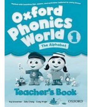 Книга для вчителя Oxford Phonics World 1 Teacher's Book
