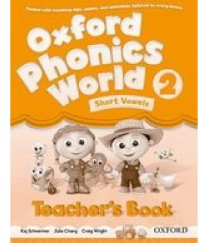 Книга для вчителя Oxford Phonics World 2 Teacher's Book