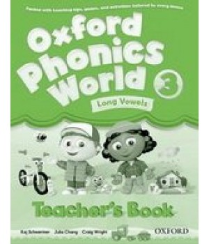 Книга для вчителя Oxford Phonics World 3 Teacher's Book