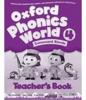 Книга для вчителя Oxford Phonics World 4 Teacher's Book