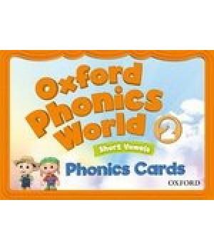 Картки Oxford Phonics World 2 Phonics Cards