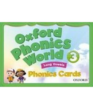 Картки Oxford Phonics World 3 Phonics Cards