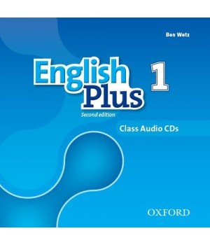 Диски English Plus Second Edition Level 1 Class Audio CDs
