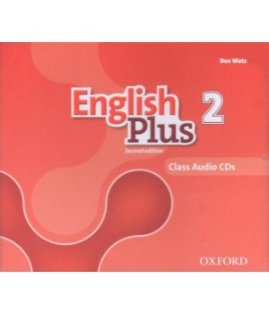 Диски English Plus Second Edition Level 2 Class Audio CDs
