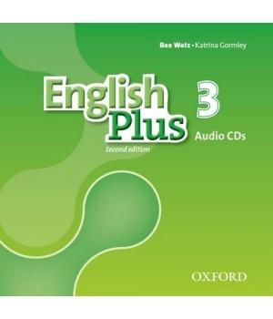 Диски English Plus Second Edition Level 3 Class Audio CDs