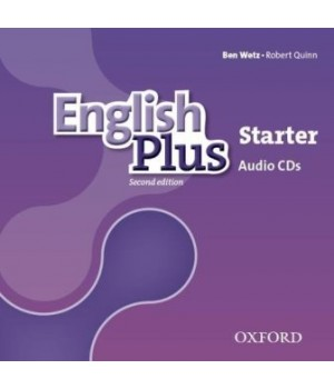Диски English Plus Second Edition Level Starter Class Audio CDs