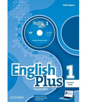Книга для вчителя English Plus Second Edition Level 1 Teacher's Book with Teacher's Resource Disk and access to Practice Kit