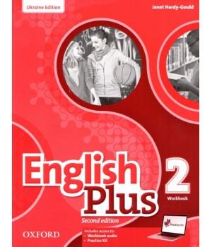 Робочий зошит English Plus Second Edition Level 2 Workbook with access to Practice Kit