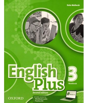 Робочий зошит English Plus Second Edition Level 3 Workbook with access to Practice Kit