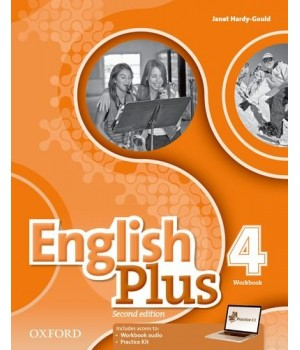 Робочий зошит English Plus Second Edition Level 4 Workbook with access to Practice Kit