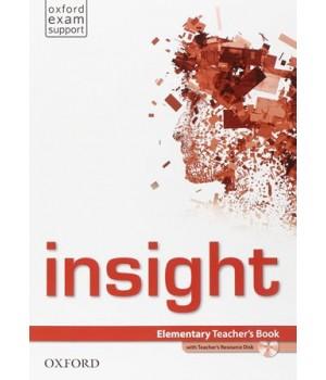 Книга для вчителя Insight Elementary Teacher's Book with DVD