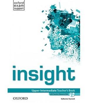 Книга для вчителя Insight Upper-Intermediate Teacher's Book with DVD