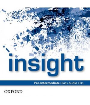 Диски Insight Pre-Intermediate Class Audio CDs (3)