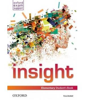 Підручник Insight Elementary Student's Book