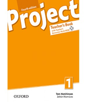 Книга для учителя Project (4th Edition) 1 Teacher's Book + MultiROM + Online Practice