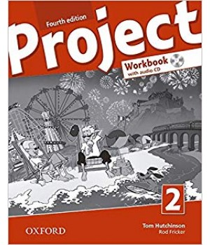 Рабочая тетрадь Project (4th Edition) 2 Workbook with Audio CD and Online Practice