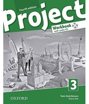 Рабочая тетрадь Project (4th Edition) 3 Workbook with Audio CD and Online Practice