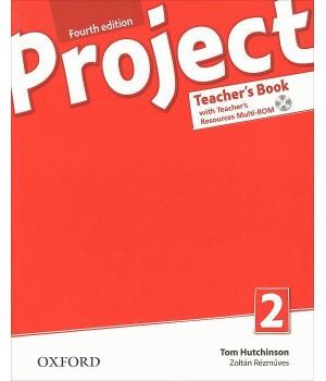 Книга для вчителя Project (4th Edition) 2 Teacher's Book + MultiROM + Online Practice