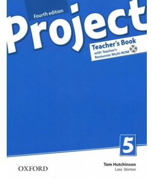 Книга для вчителя Project (4th Edition) 5 Teacher's Book + MultiROM + Online Practice