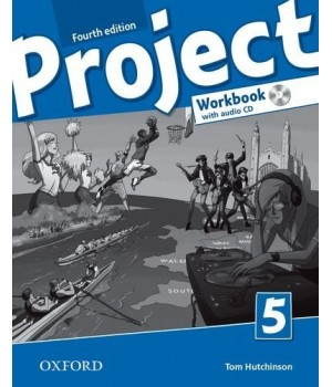 Робочий зошит Project (4th Edition) 5 Workbook with Audio CD and Online Practice