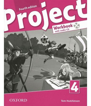 Рабочая тетрадь Project (4th Edition) 4 Workbook with Audio CD