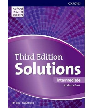 Підручник Solutions Third Edition Intermediate Student's Book