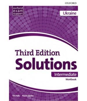 Робочий зошит Solutions Third Edition Intermediate Workbook with Audio