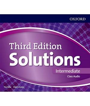 Диски Solutions Third Edition Intermediate Class Audio CDs (4)