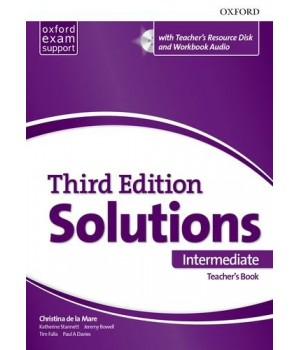 Книга для учителя Solutions Third Edition Intermediate Teacher's Pack