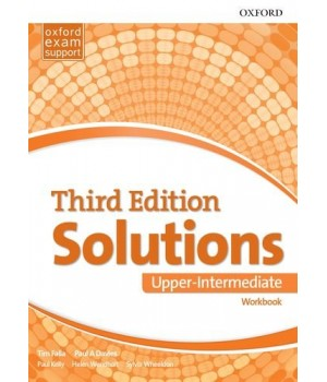 Рабочая тетрадь Solutions Third Edition Upper-Intermediate Workbook with Audio