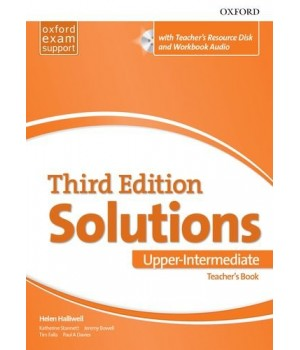 Книга для вчителя Solutions Third Edition Upper-Intermediate Teacher's Pack