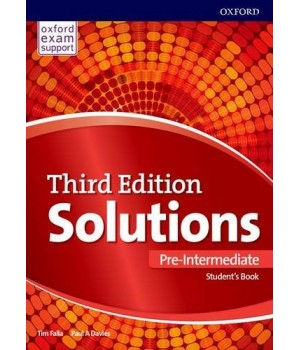 Учебник Solutions Third Edition Pre-Intermediate Student's Book