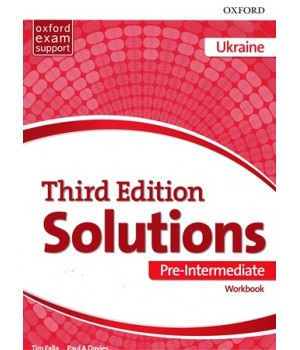 Рабочая тетрадь Solutions Third Edition Pre-Intermediate Workbook with Audio