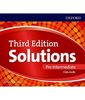 Диски Solutions Third Edition Pre-Intermediate Class Audio CDs (3)