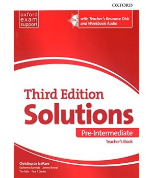 Книга для учителя Solutions Third Edition Pre-Intermediate Teacher's Pack