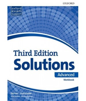 Рабочая тетрадь Solutions Third Edition Advanced Workbook with Audio